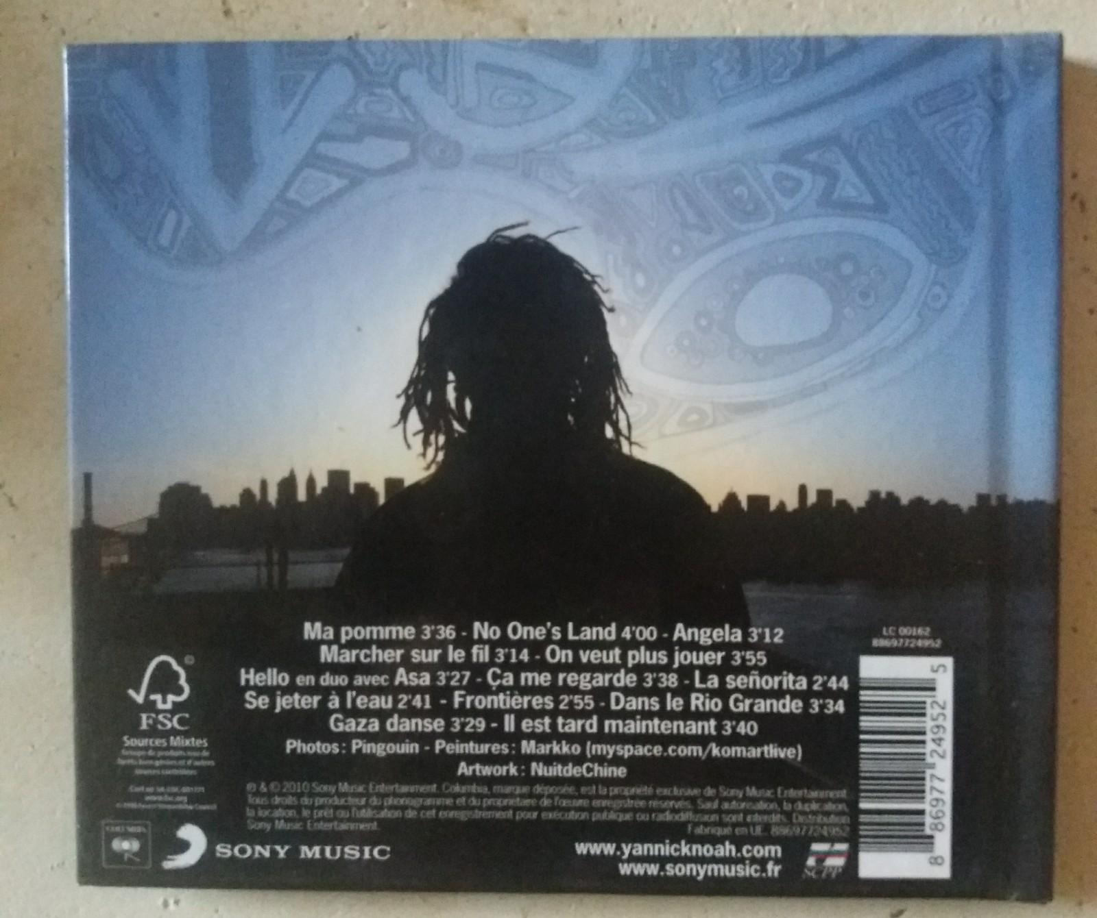 troc de troc cd yannick noah image 1
