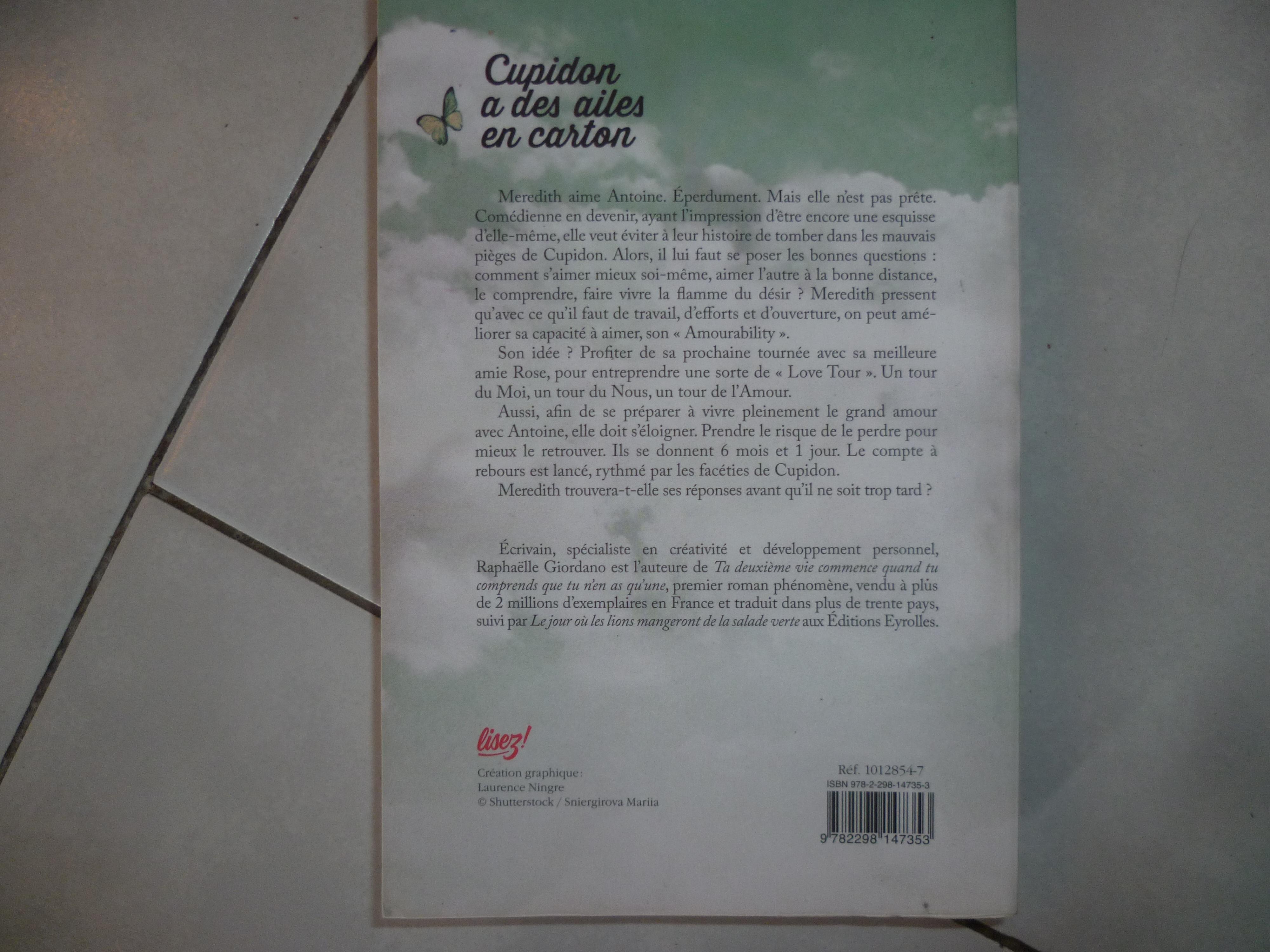 troc de troc reserve - livre - cupidon a des ailes en carton image 1