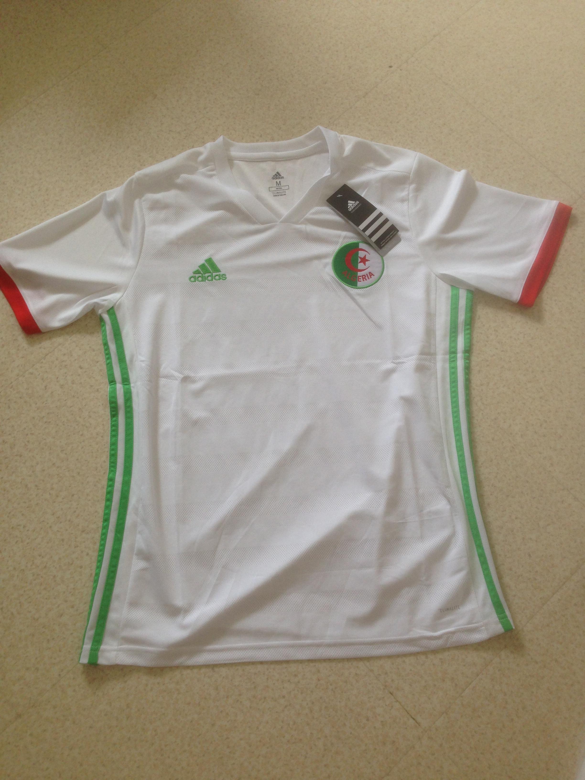 troc de troc maillot de l'algerie taille m image 0