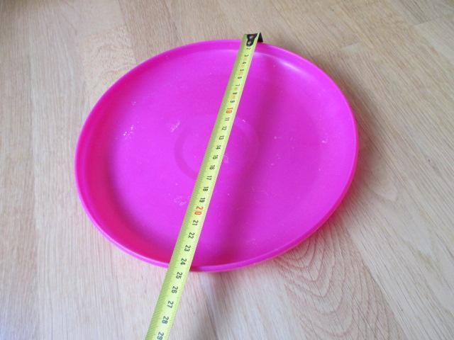 troc de troc à lyon = frisbee / disque volant rose image 0