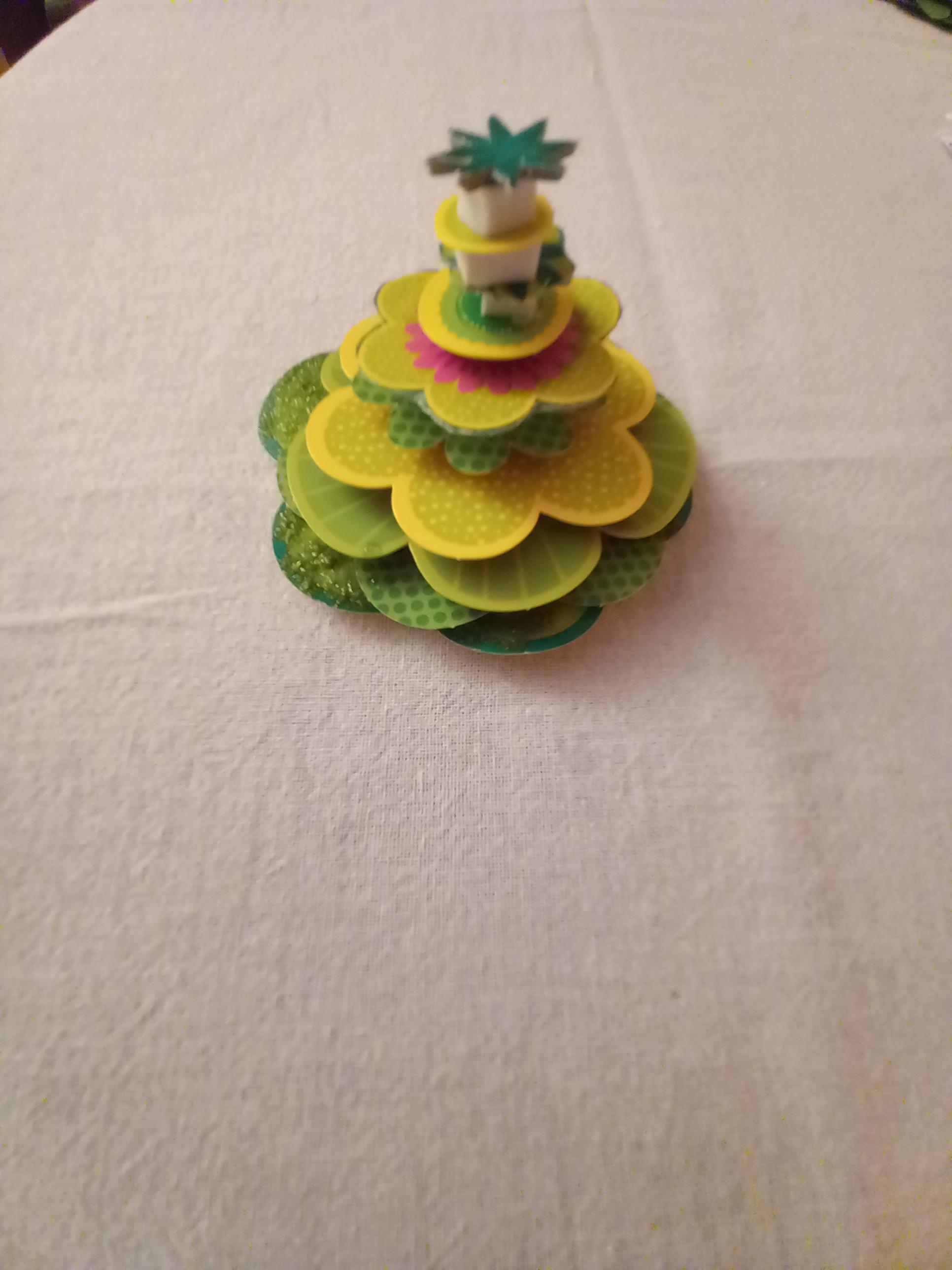 troc de troc fleur de décoration 3d. image 1