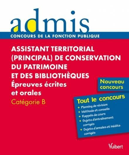troc de troc assistant territorial de conservation du patrimoine (catégorie b) image 0