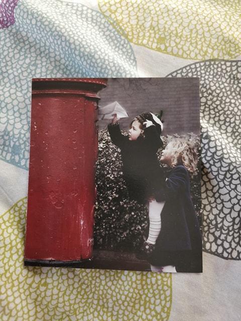 troc de troc don petite carte postale vierge image 0