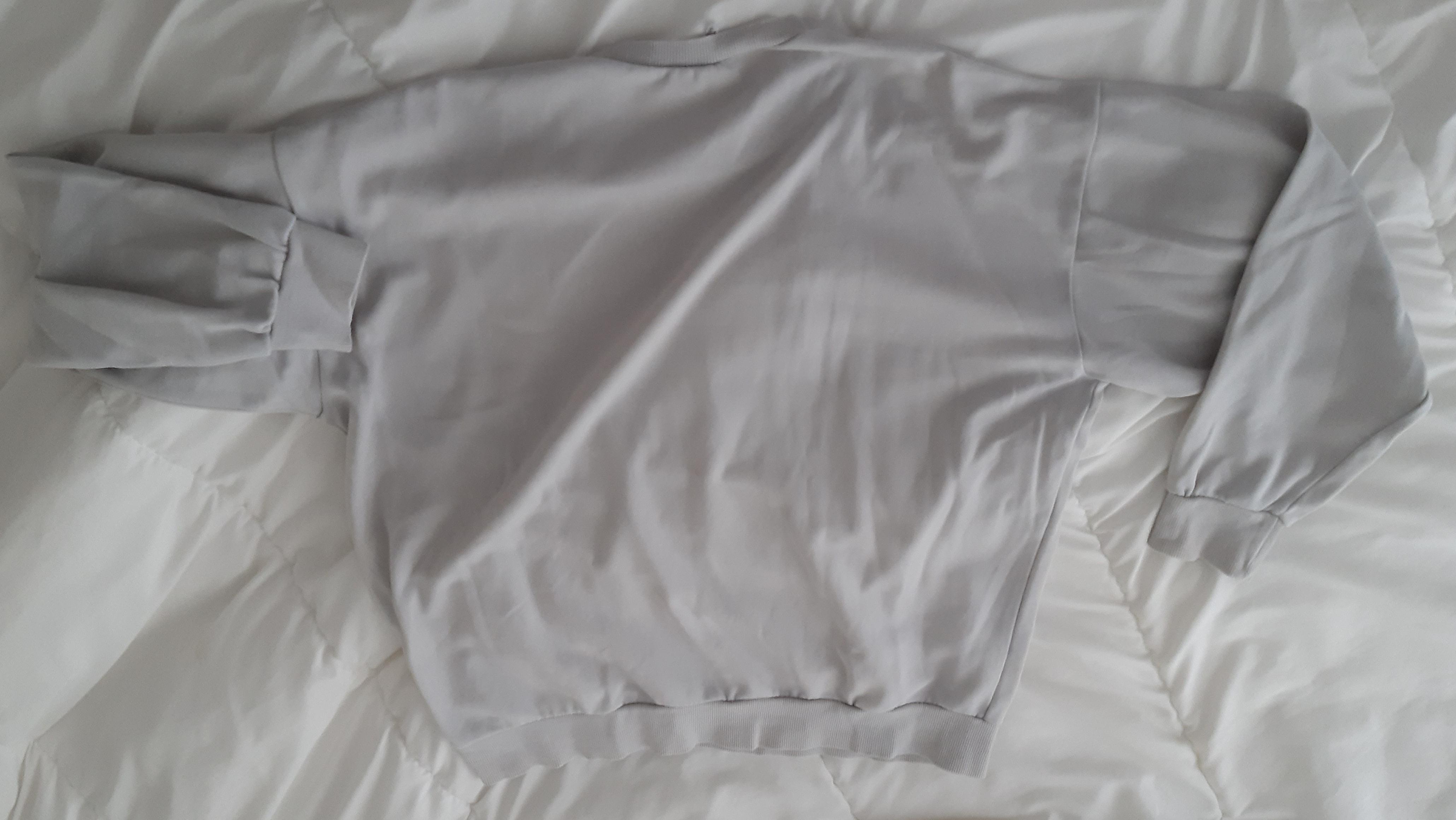 troc de troc haut manche longue coton taille l image 1