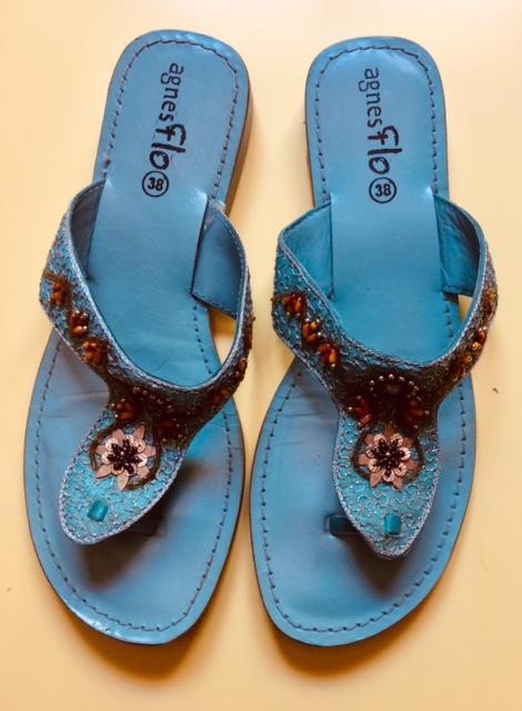 troc de troc sandales nu-pieds pointure 38 - très bon état image 0
