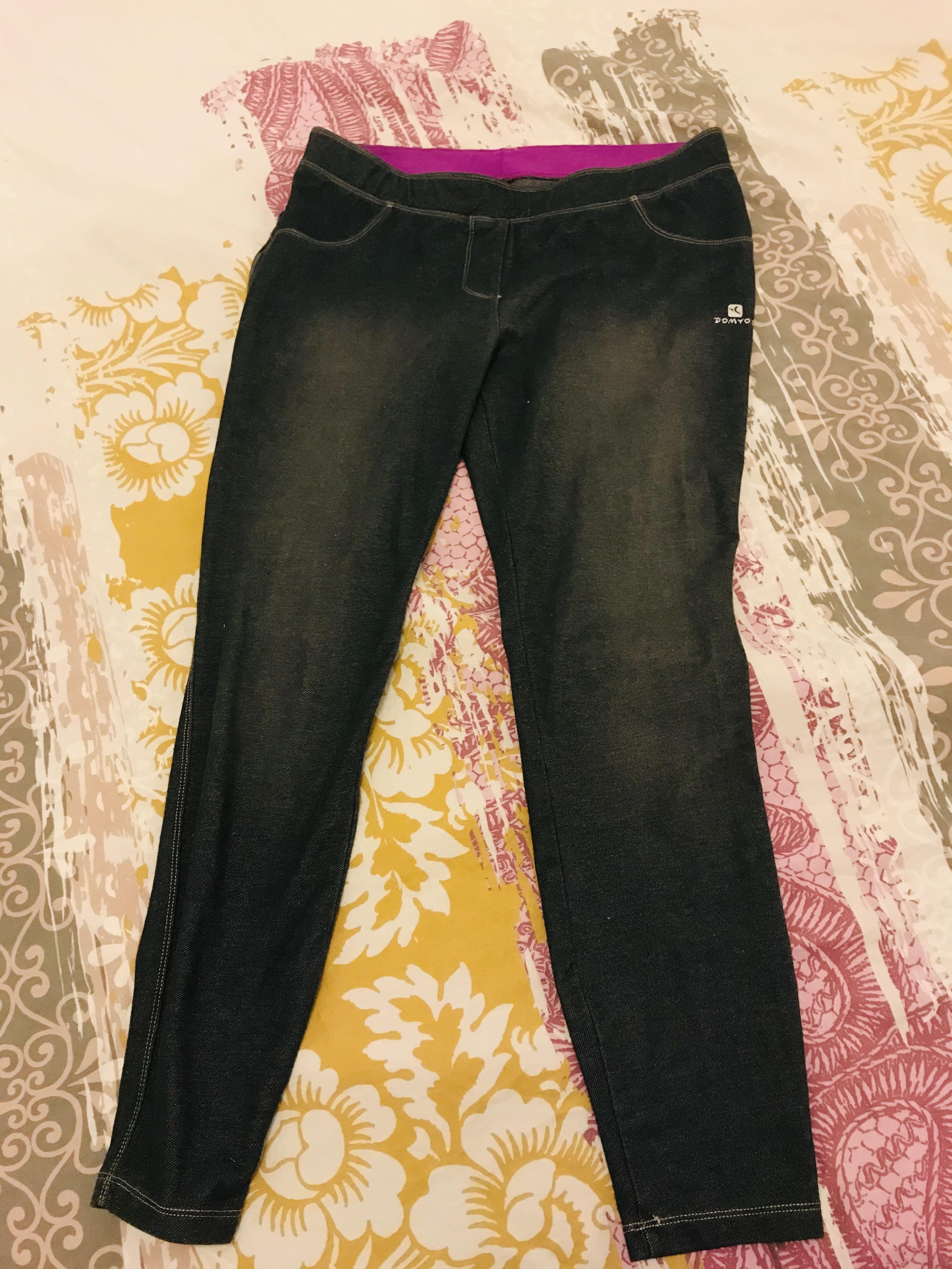 troc de troc jean façon legging - taille 40 image 0
