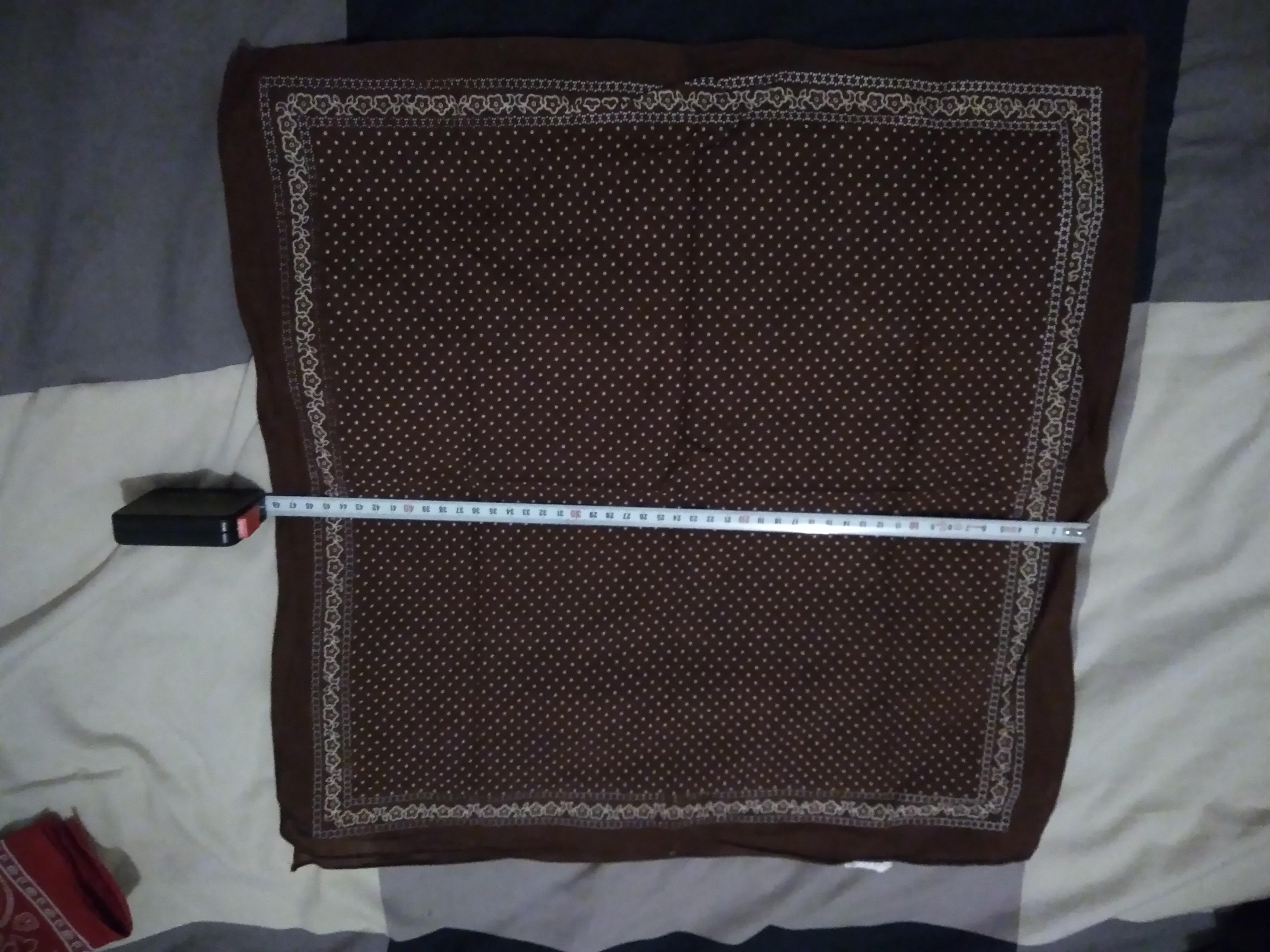 troc de troc calinou / carrée coton 2 image 0