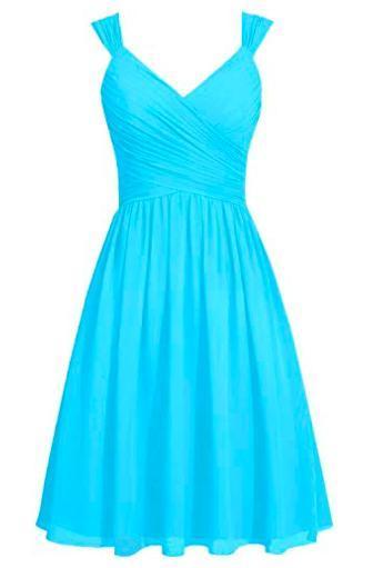 troc de troc belle robe habillée bleu clair neuve image 0