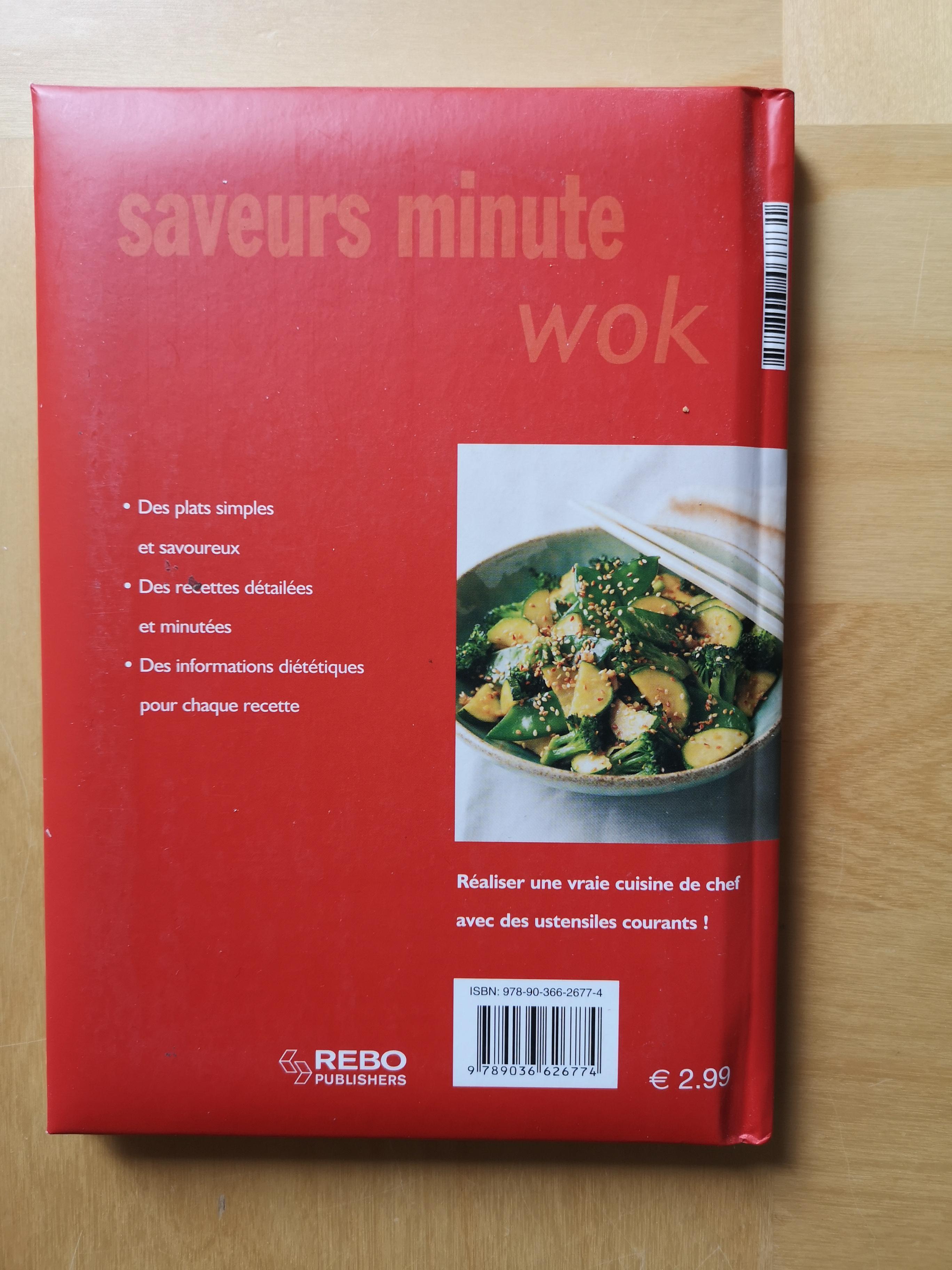 troc de troc livre de recettes au wok image 1