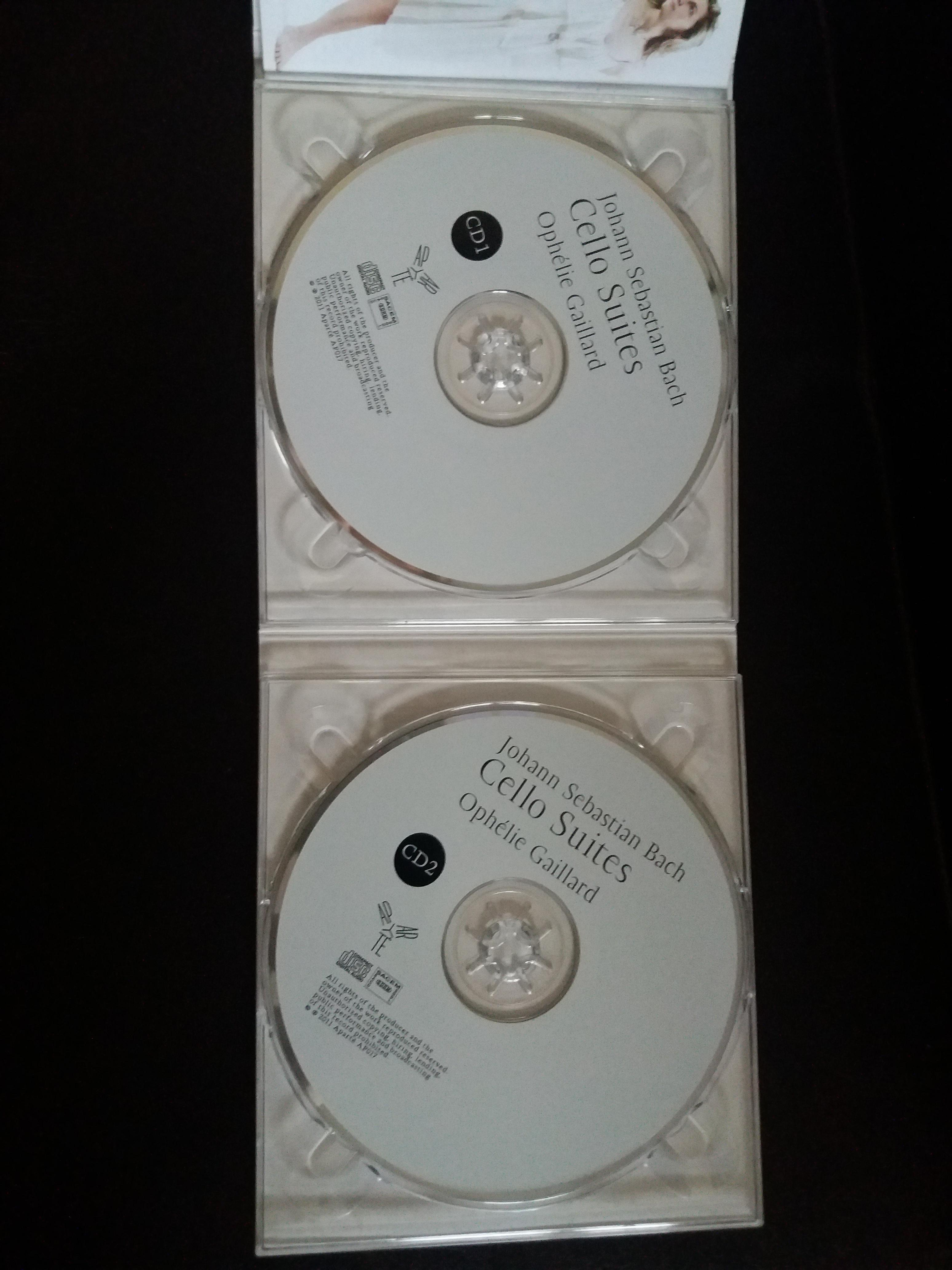 troc de troc cd bach   par ophélie gaillard  neuf image 1