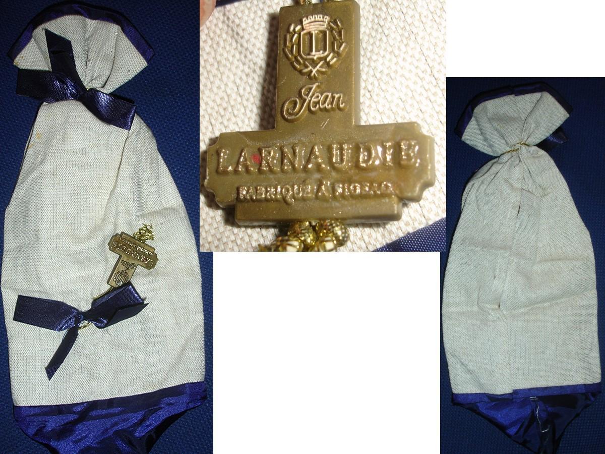 troc de troc sac pochette jean larnaudie avec nom logo pour collection image 0