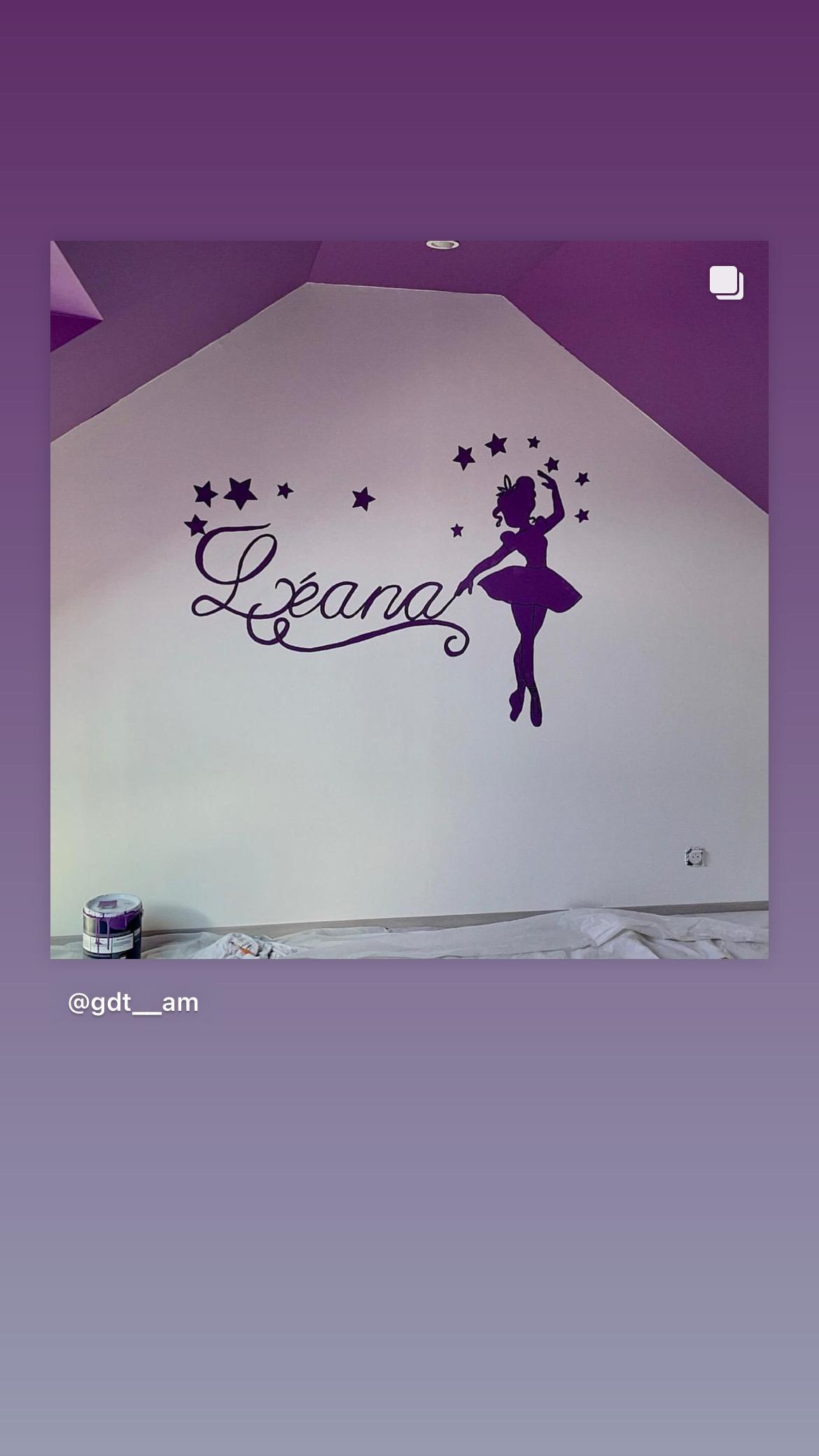 troc de troc fresques sur mur pour enfant image 2
