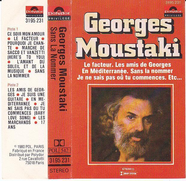troc de troc cassette audio : georges moustaki image 0