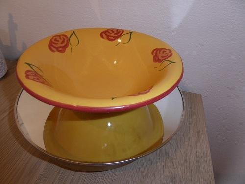 troc de troc reserve petite assiette style provençal image 0