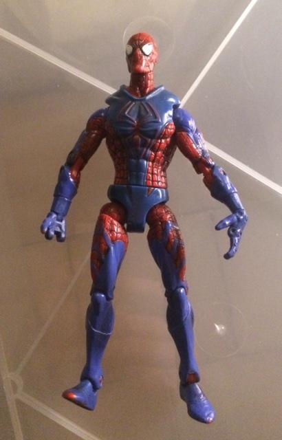troc de troc lot 2 figurines articulées marvel spiderman - 15 cm image 0