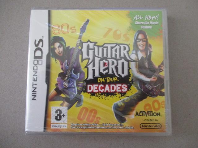 troc de troc jeu ds guitar hero decades image 0