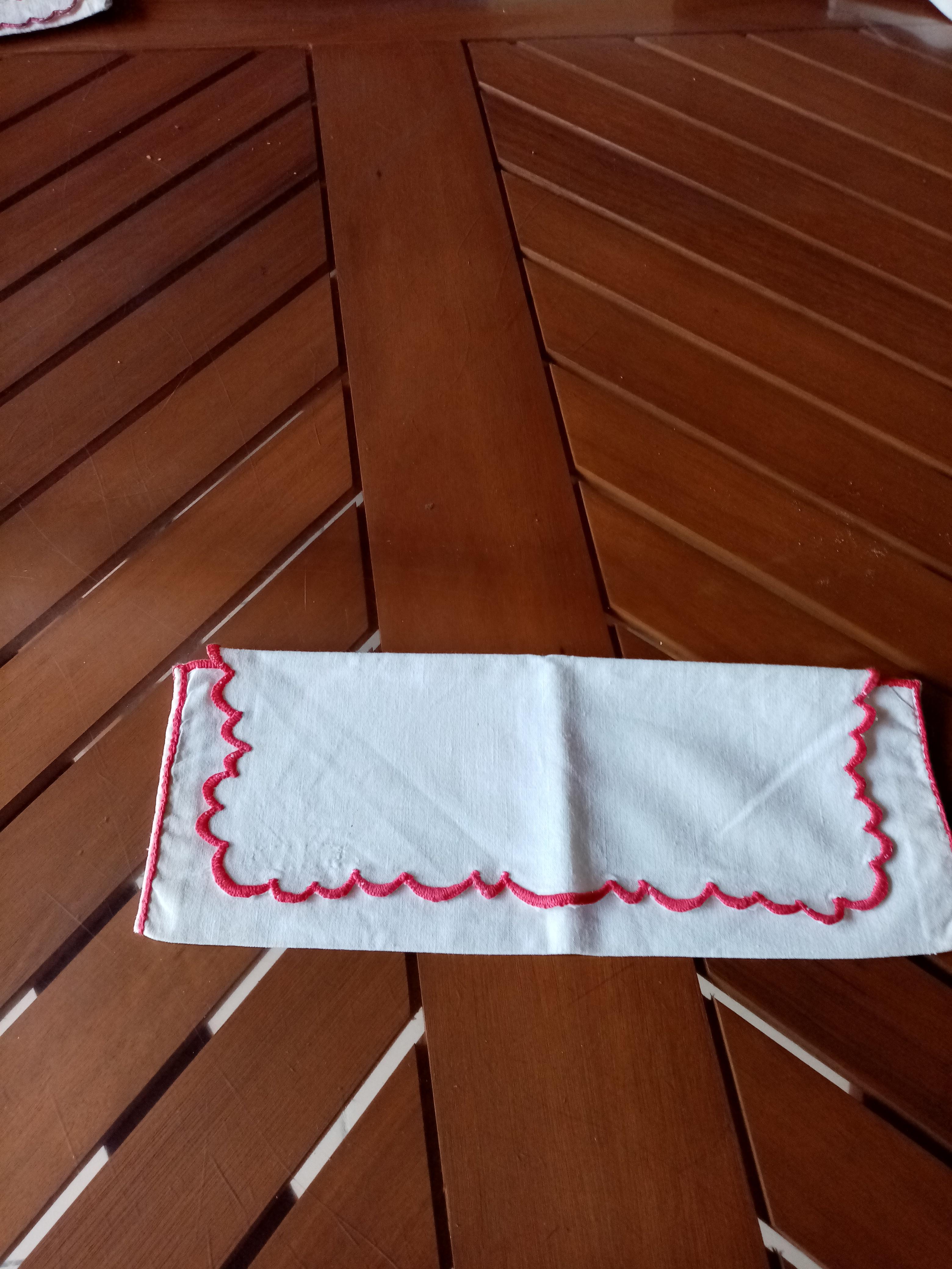 troc de troc range serviette  fait mains      1  noisette image 0