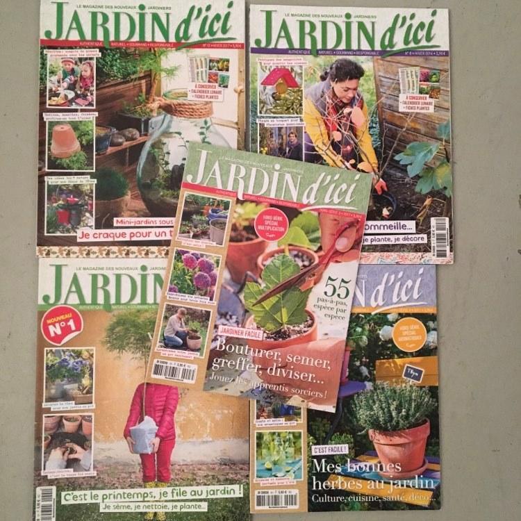 troc de troc 3 lots de magazines de jardinage neufs image 0