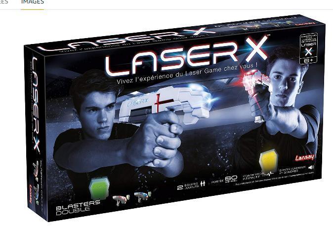 troc de troc recherche jouet lansay- pistolets laser x - 88016 image 0