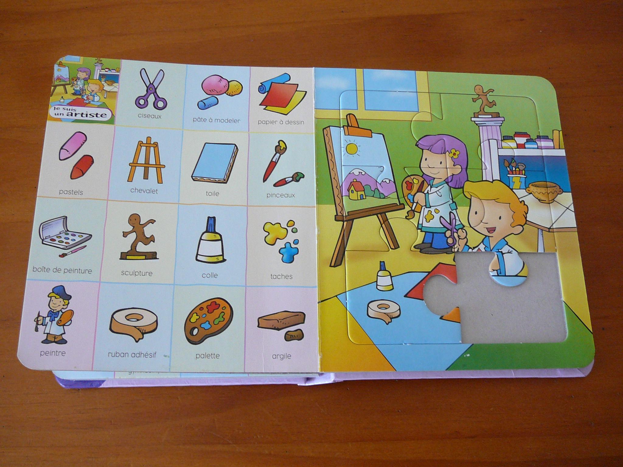 troc de troc livre imagier et puzzles image 2