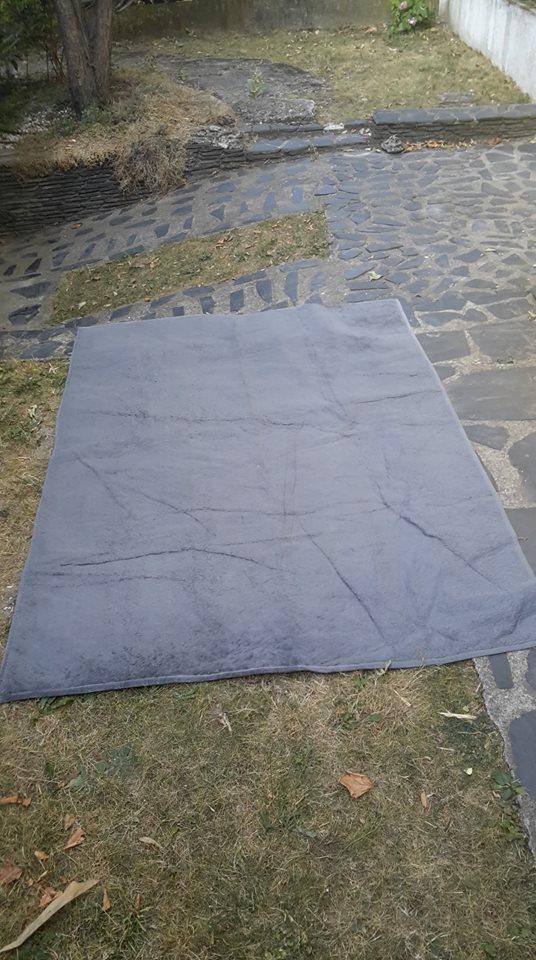 troc de troc tapis gris 1m sur 1m50 image 0