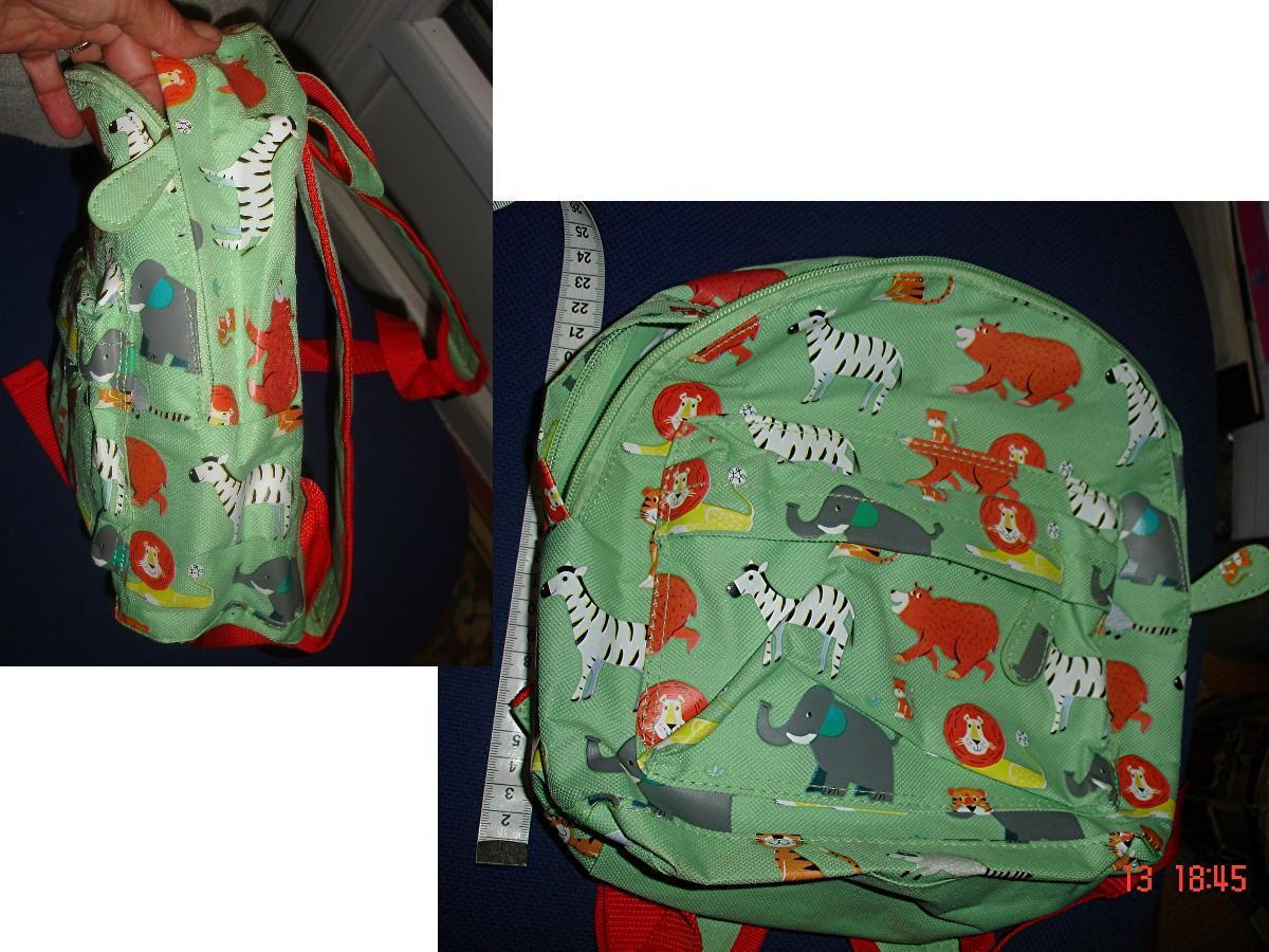 troc de troc sac à dos animaux d'afrique / souvenir de londres > rex london image 0