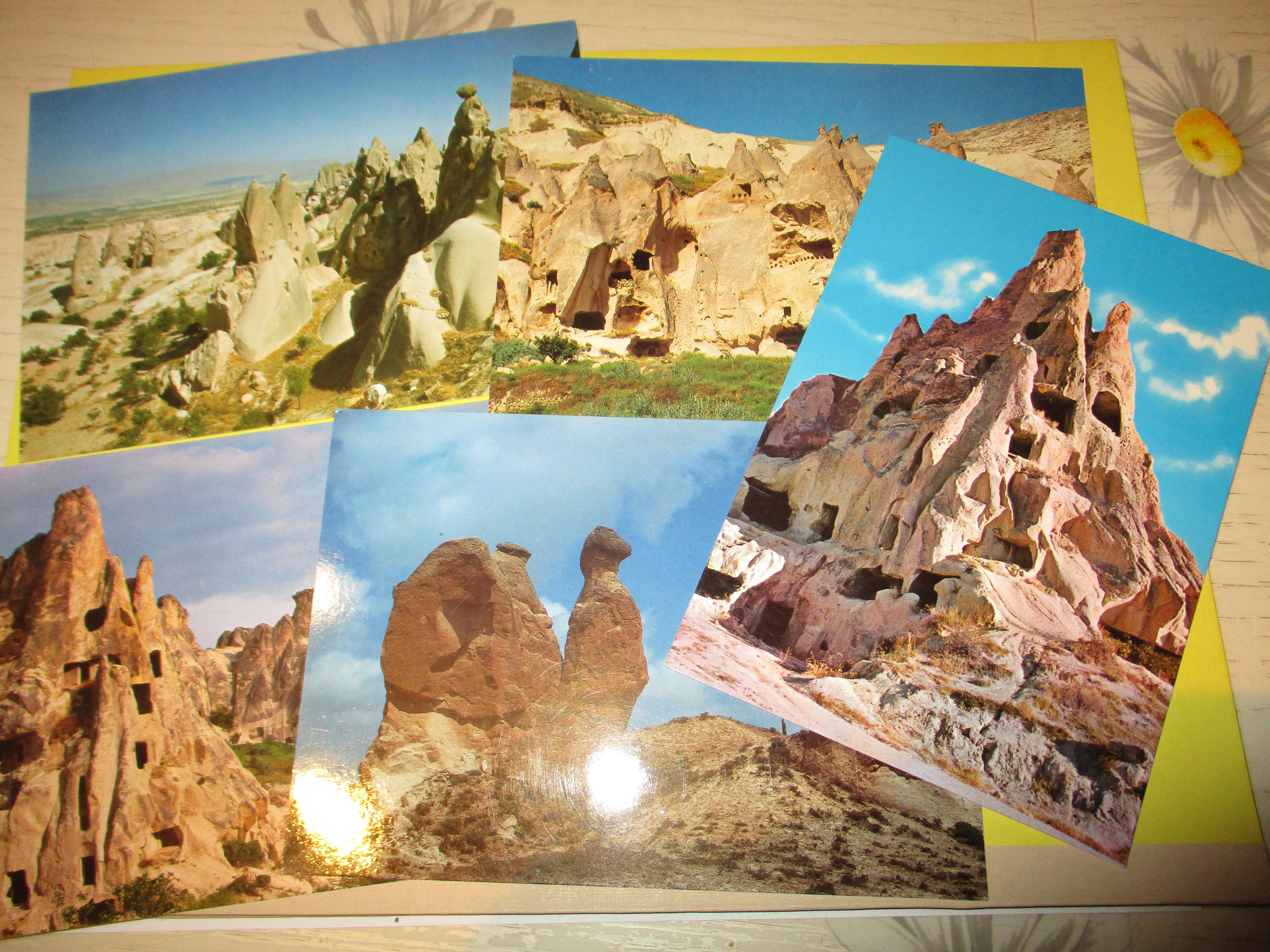 troc de troc 5 cartes postales neuves cappadocce turquie image 0