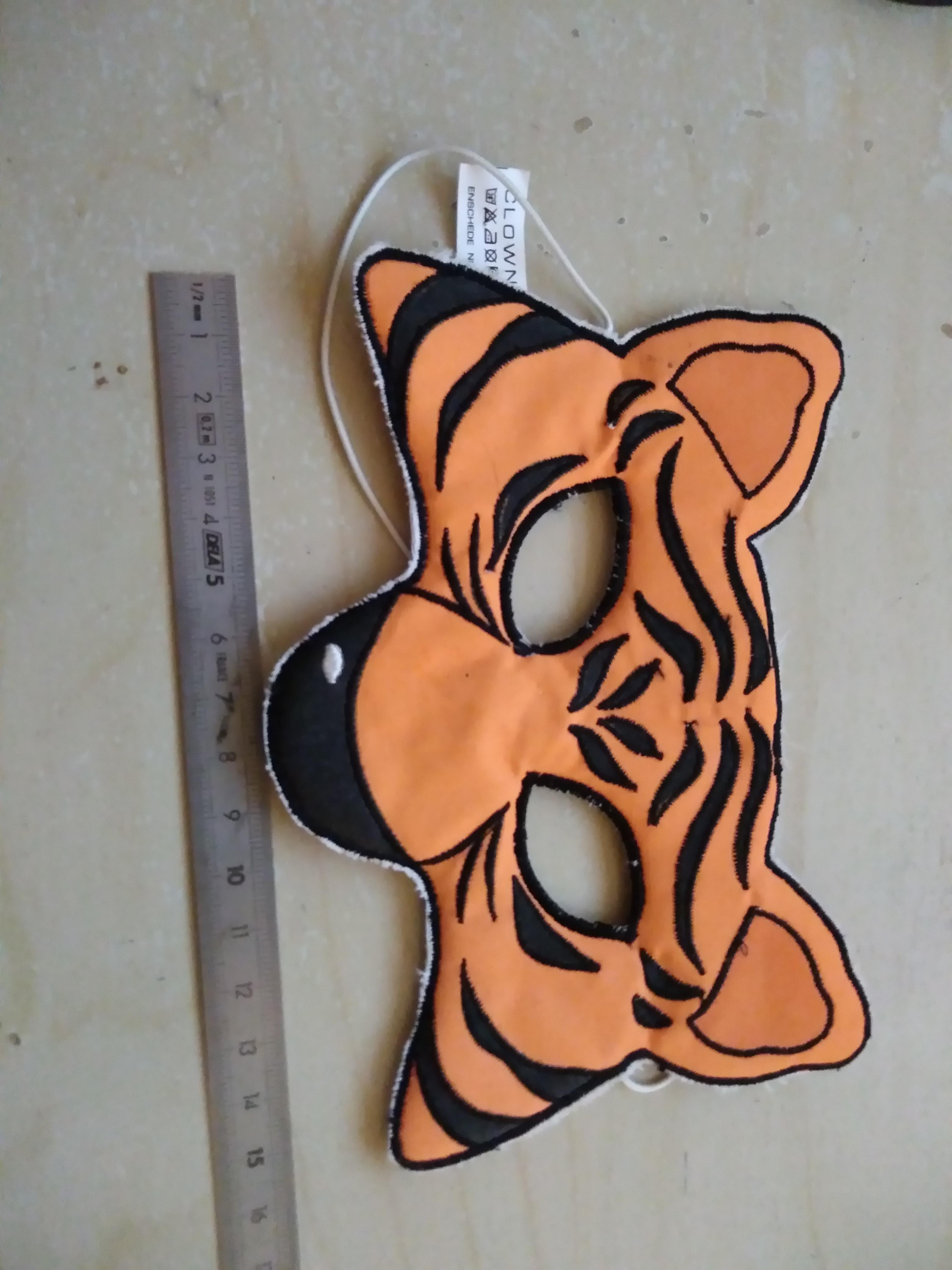 troc de troc masque enfant tigre image 0