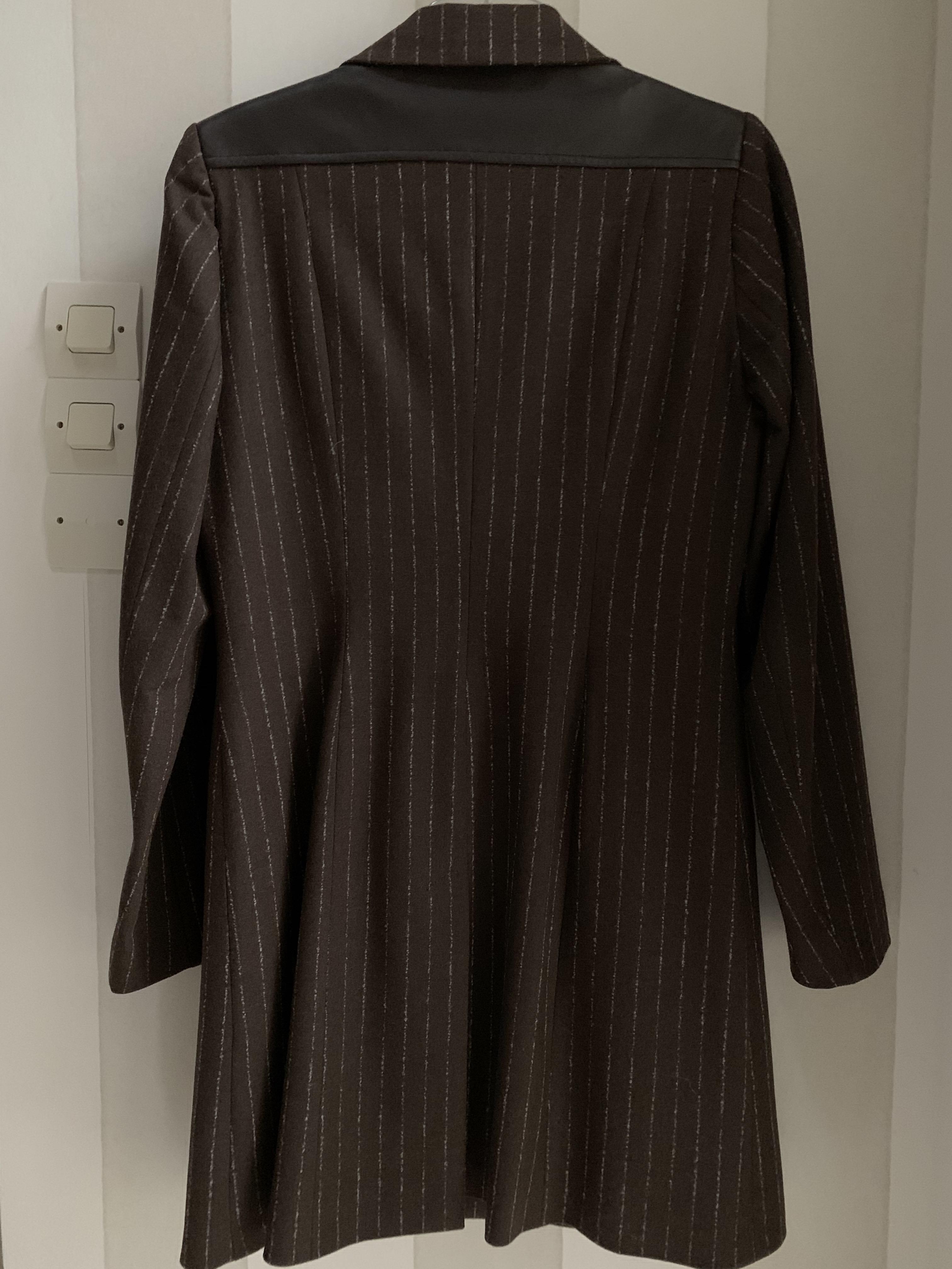 troc de troc veste  longue marron image 2