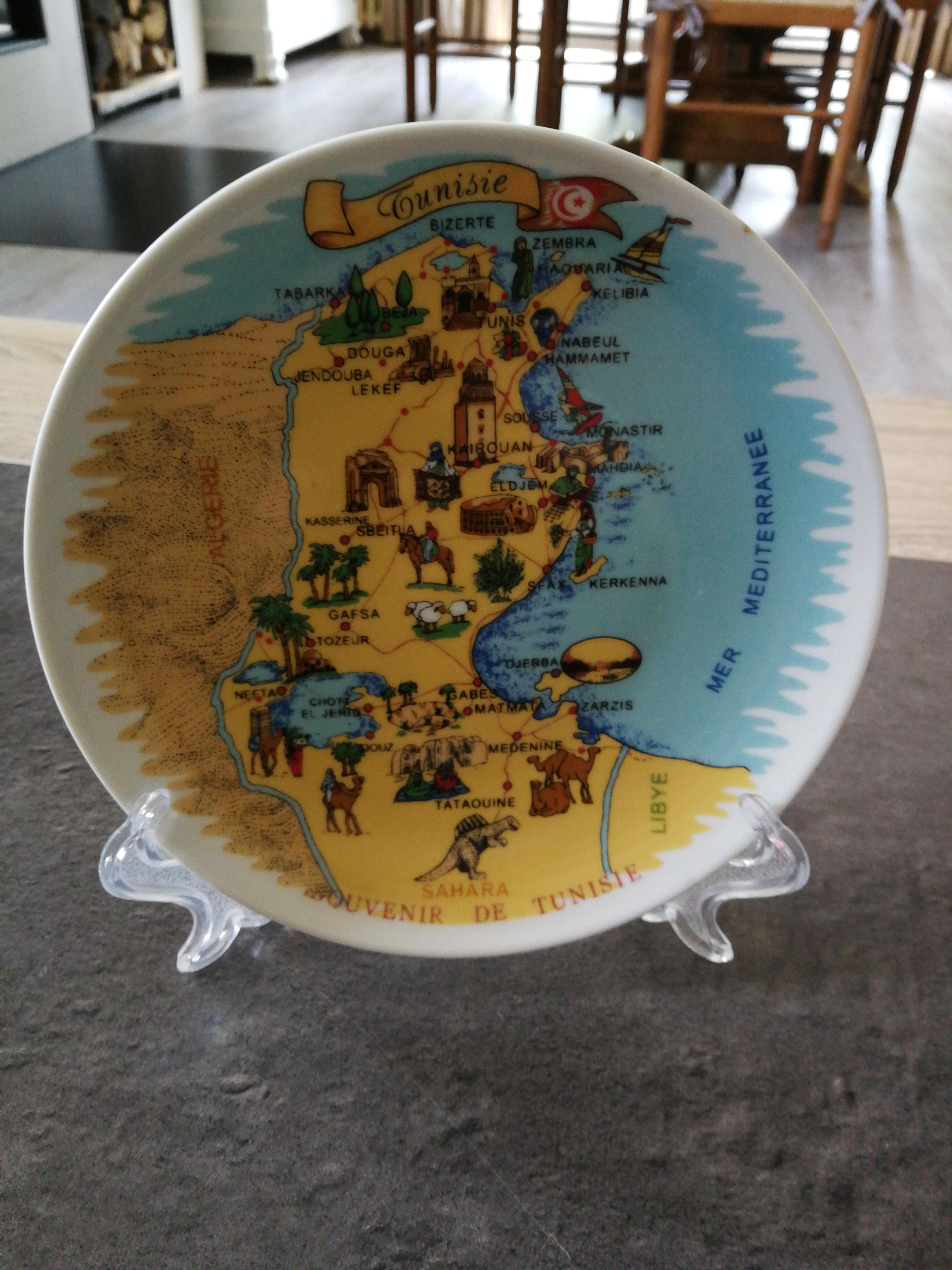 troc de troc assiette déco tunisie image 0