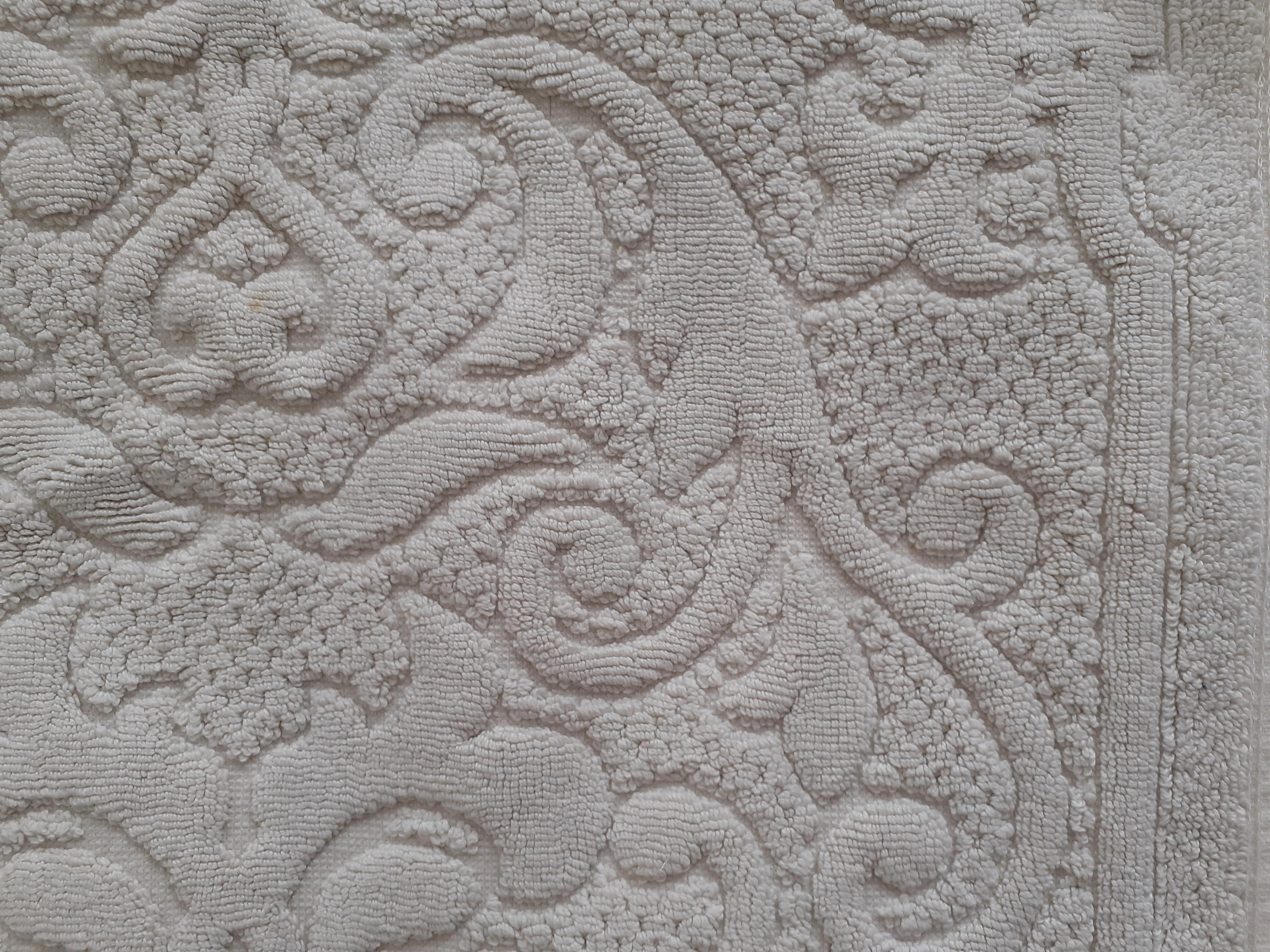 troc de troc reservé petit tapis de bain beige image 1