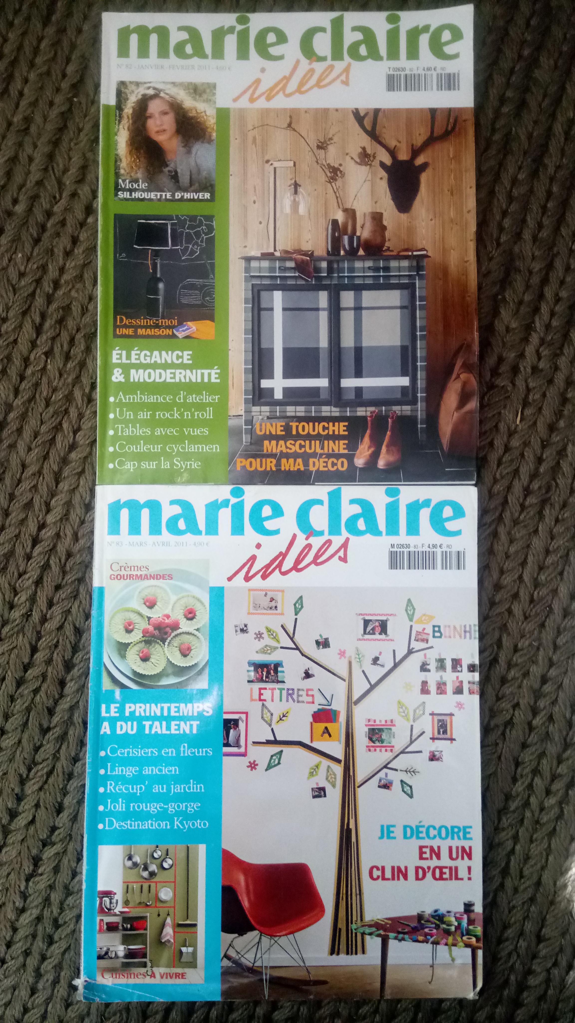 Marie Claire Maison Jardin Recup troc magasine marie claire idées