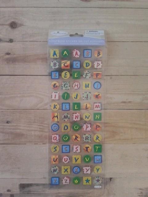 troc de troc stickers autocollants alphabet image 0