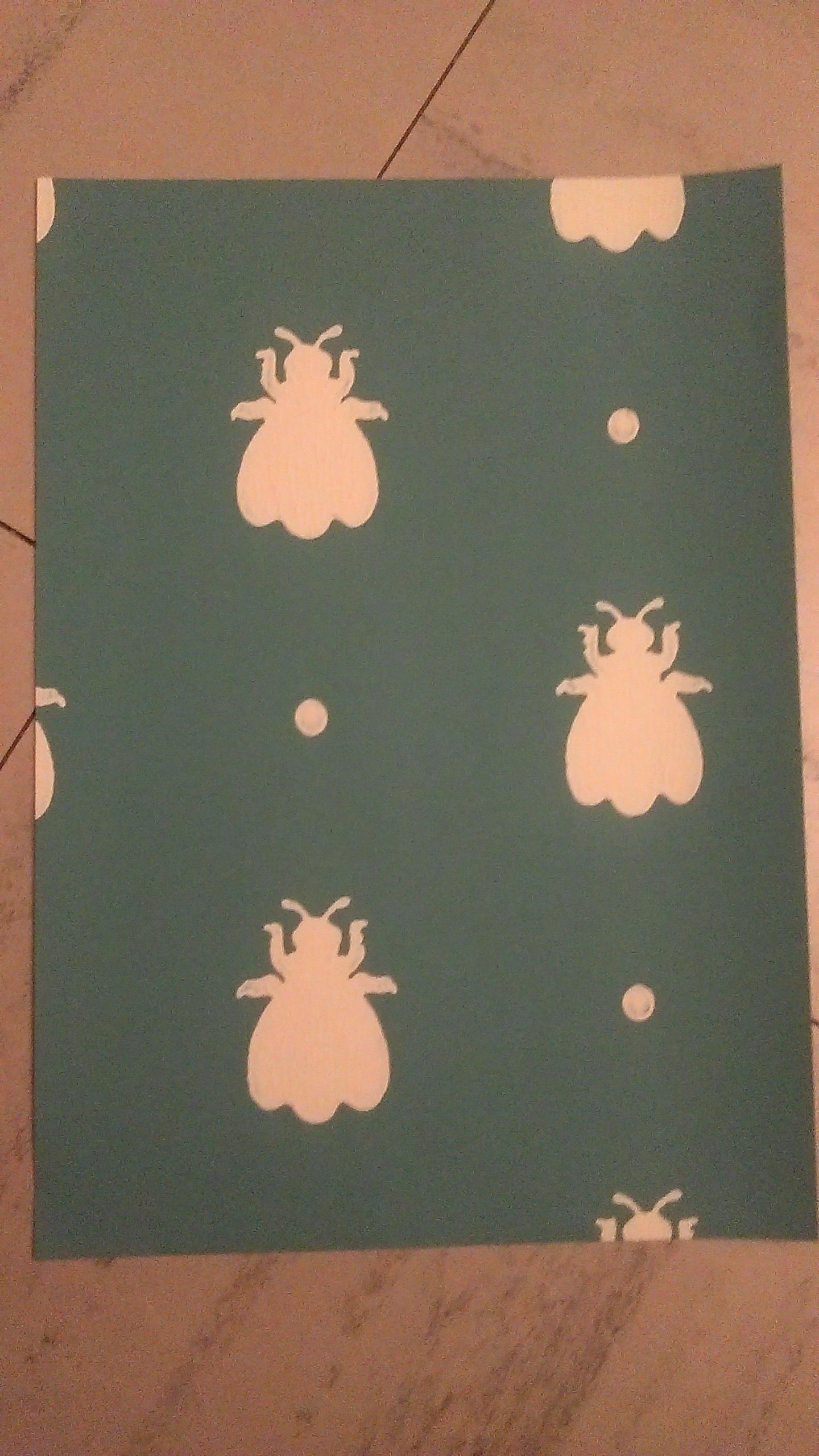 """troc de troc papier créatif """"bumble bee"""". image 0"""
