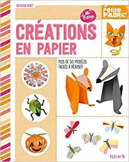 """troc de troc """" créations en papier """" nathalie seret (2017) fleurus image 0"""