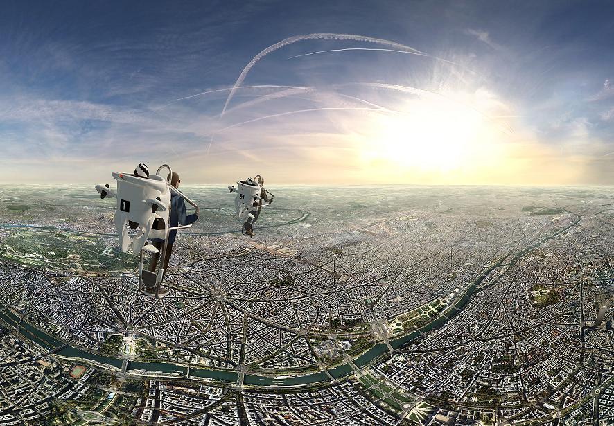 troc de troc *epuise* survol de paris dans un jet pack en réalité virtuelle image 1