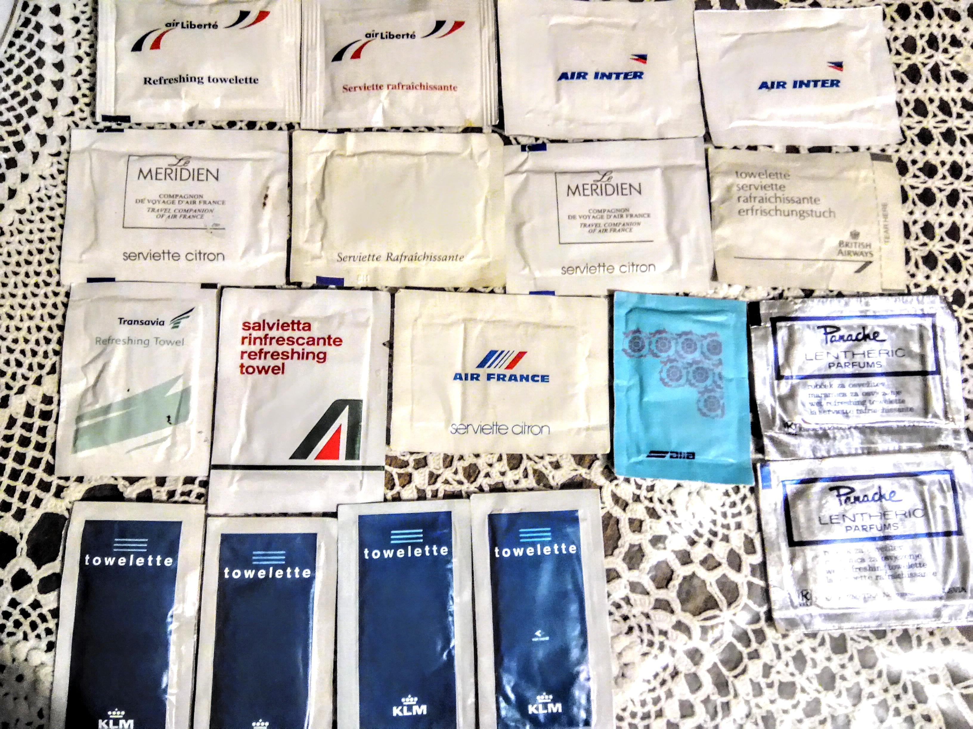 troc de troc pour ca.: 18 sachets de serviettes rafraÎchissantes image 1