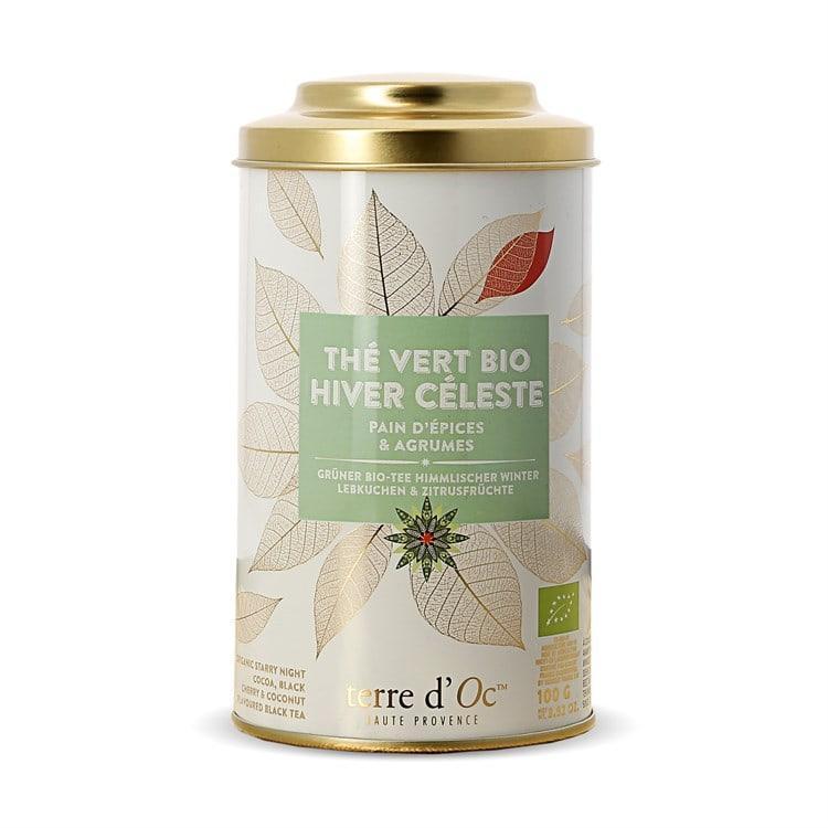 troc de troc (réservé) thé vert bio hiver céleste (nature et découvertes) image 0
