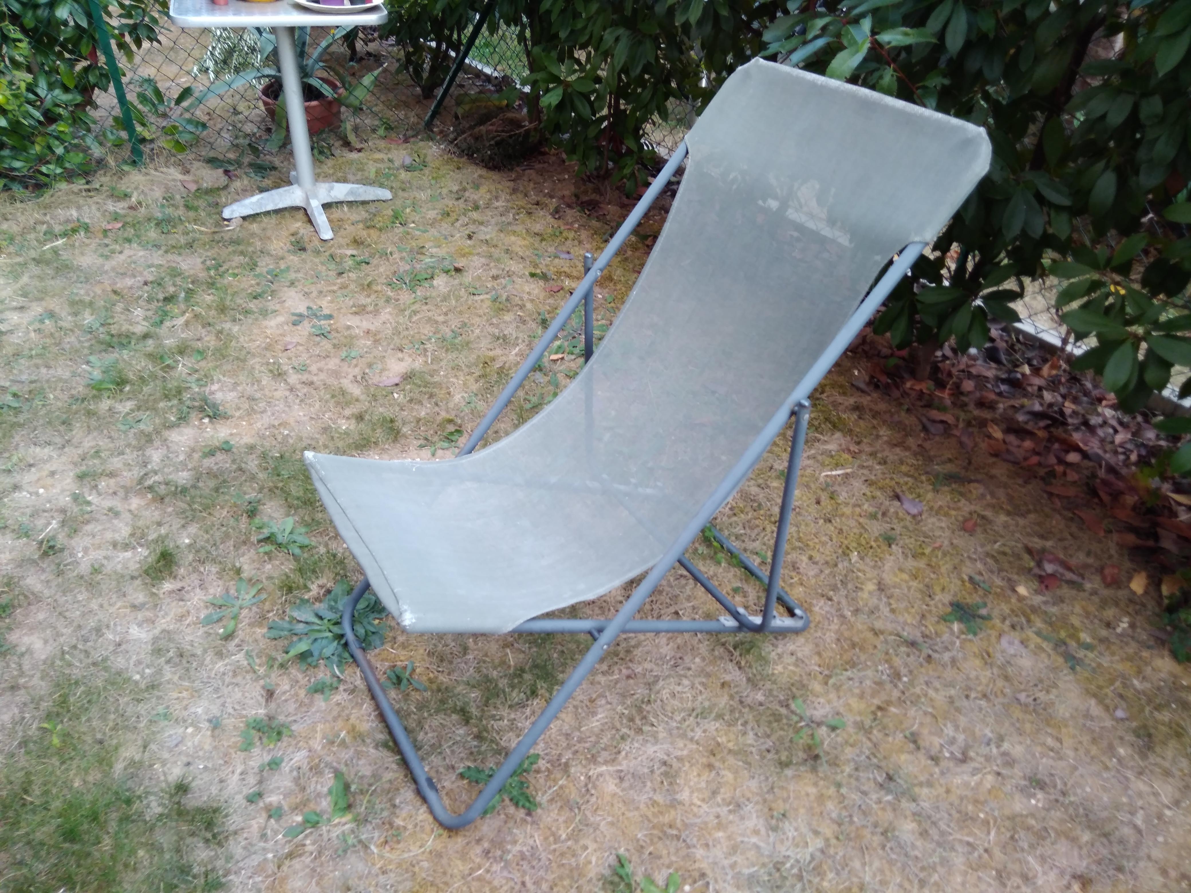 troc de troc chaise longue de jardin image 0