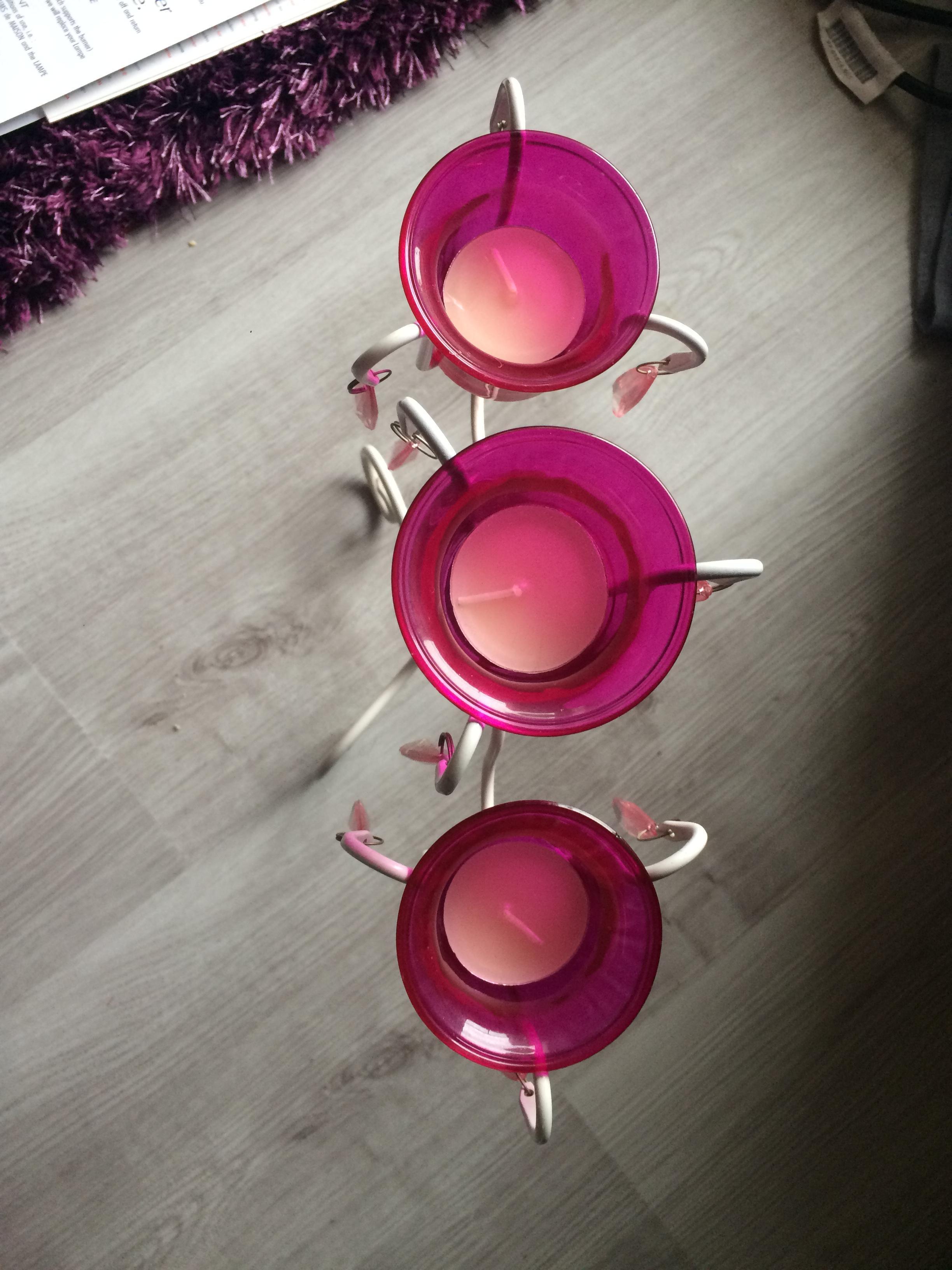 troc de troc décoration porte bougies image 1
