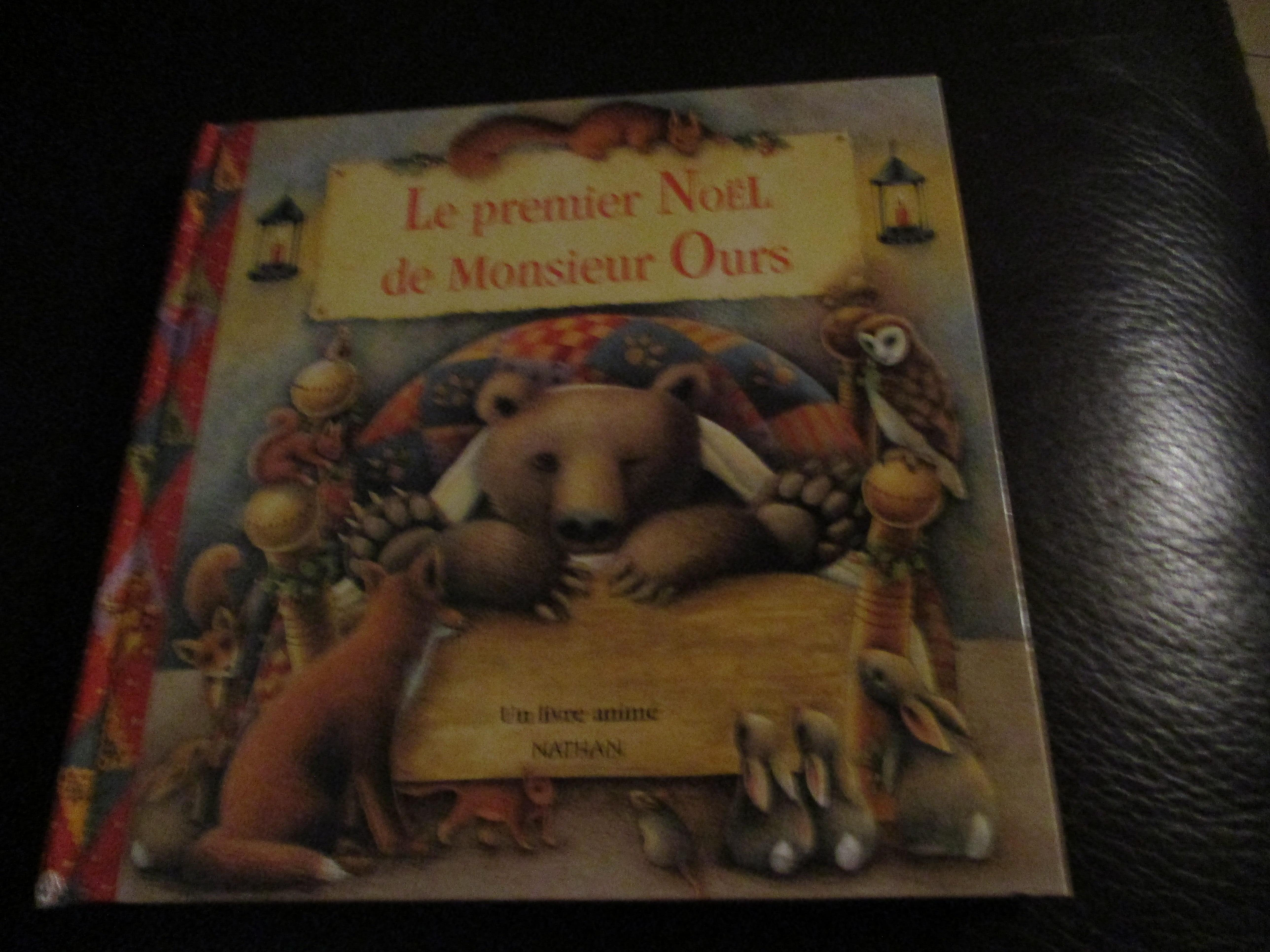 troc de troc album animé : le premier noel de monsieur ours image 0