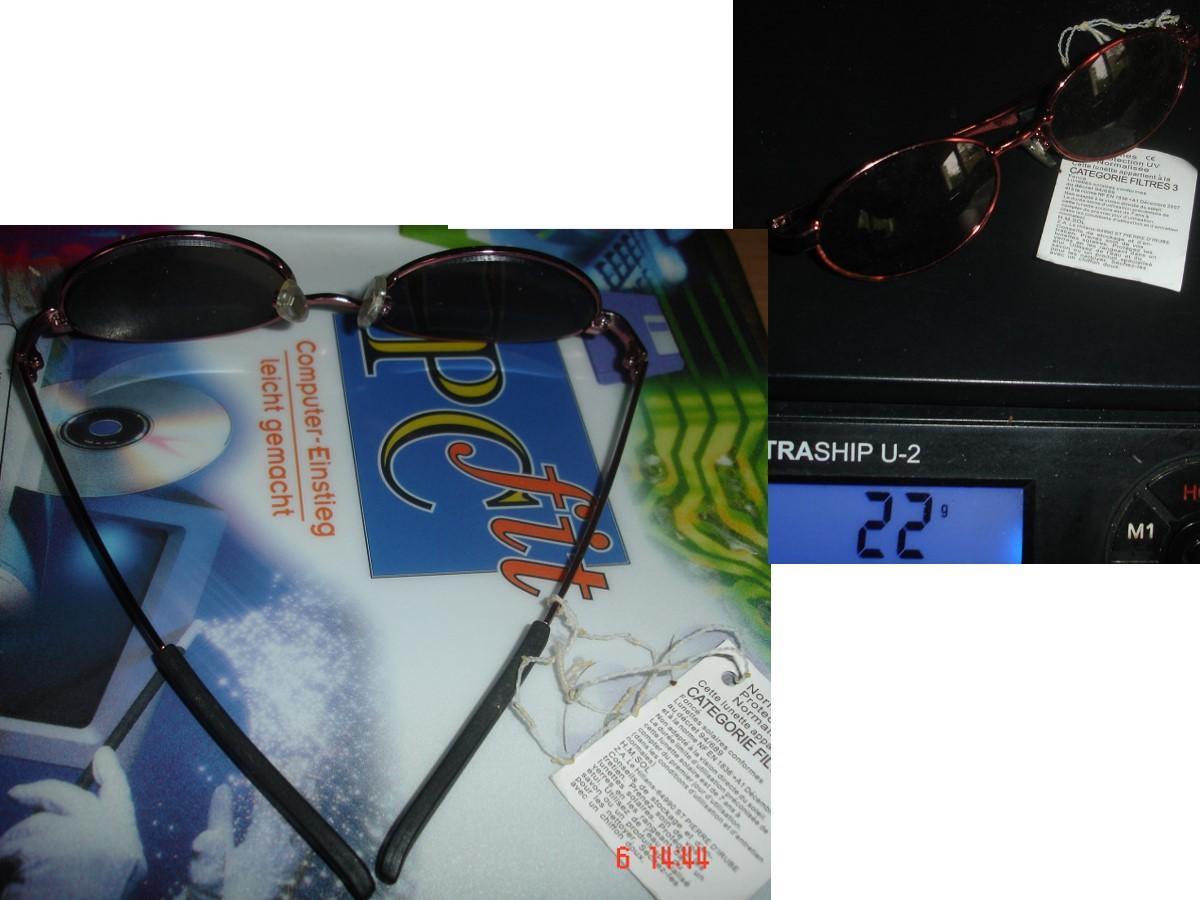 troc de troc rés. à 1977coco le 14/01/2021 >lunettes de soleil neuves, dans un tiroir depuis longtemps image 0