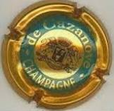 troc de troc capsule champagne de cazanove or cuivré image 0
