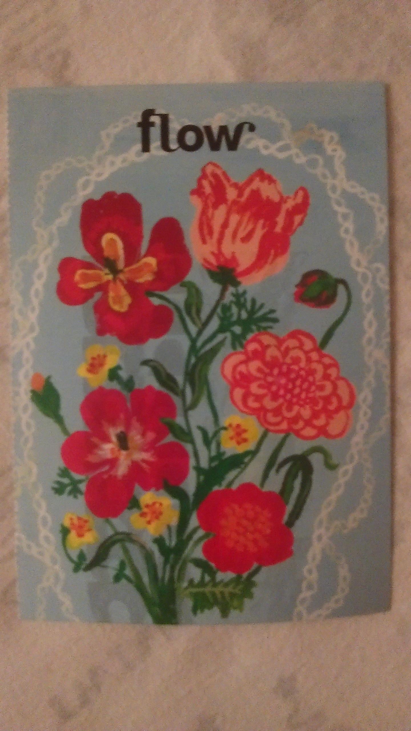 "troc de troc carte postale ""fleurs"". image 0"