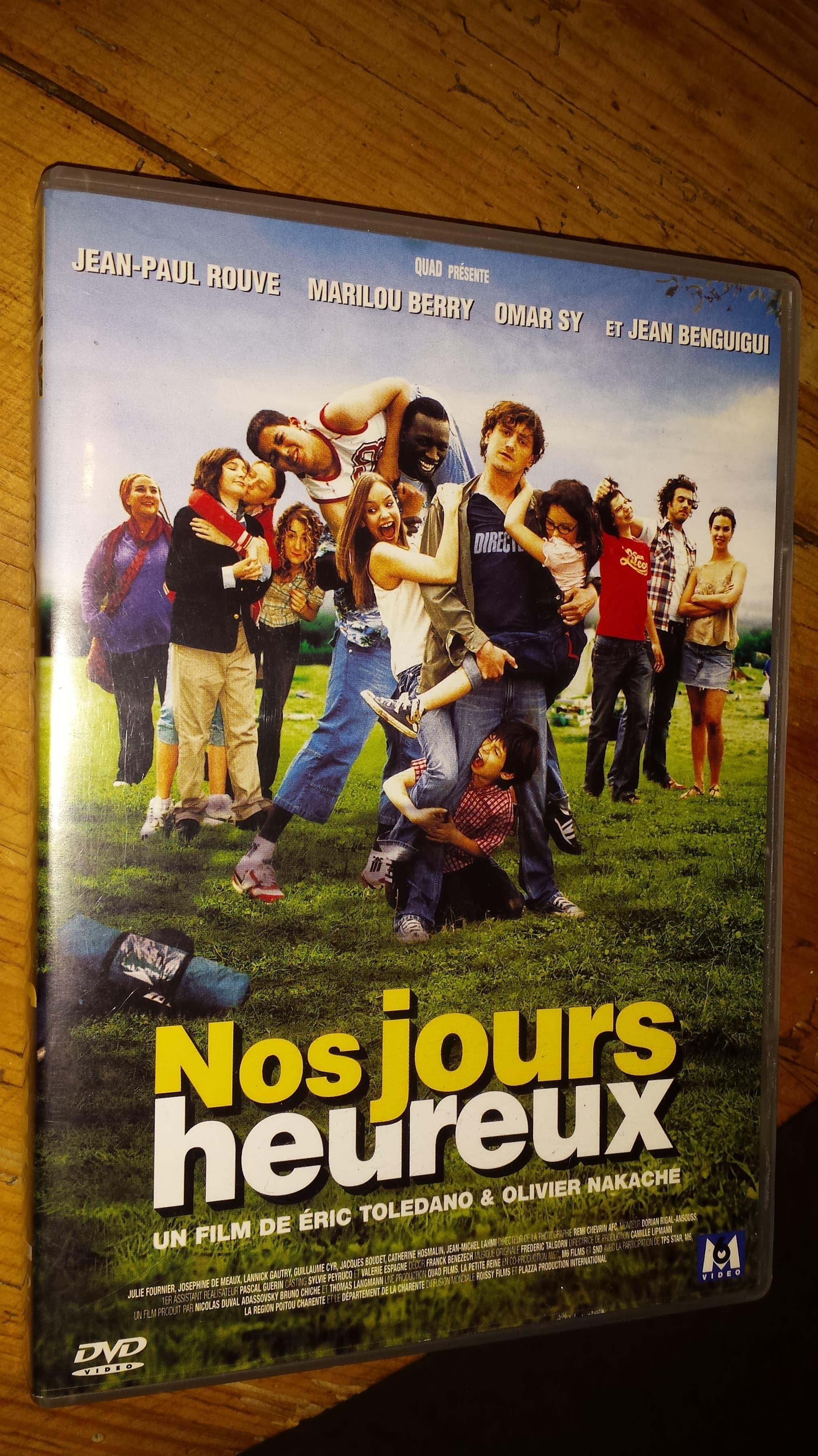 """troc de troc dvd film """"nos jours heureux"""" image 0"""