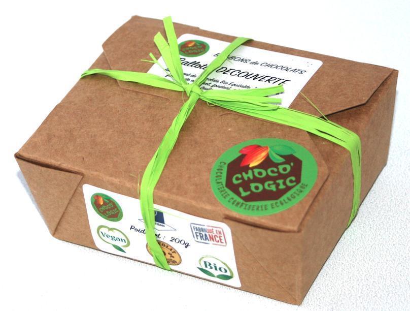 troc de troc * Épuisé * ballotin de 200g de bonbons de chocolats vegan image 1