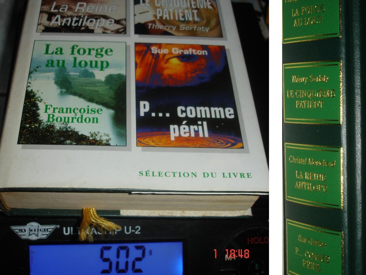 troc de troc sélection de 4 romans : forge aux loups reine antilope 5è patient image 1