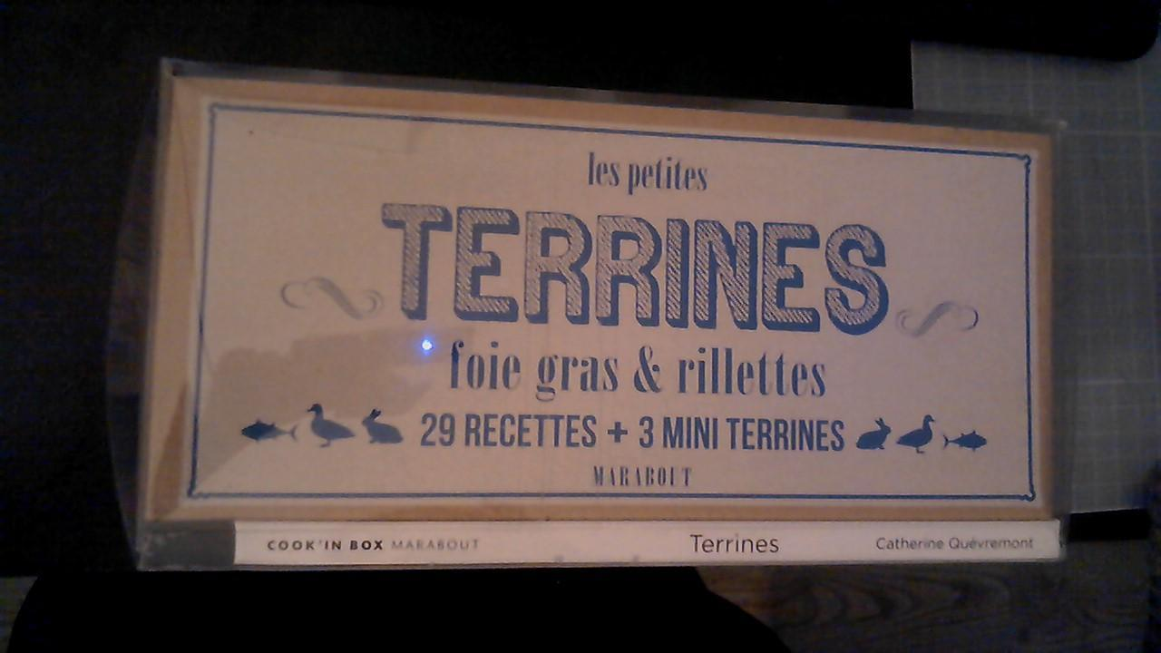 troc de troc coffret : livre 29 recettes de terrines +3 mini terrines image 0