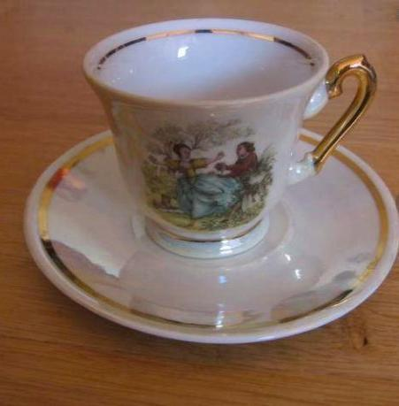 troc de troc service à thé/ café porcelaine image 2