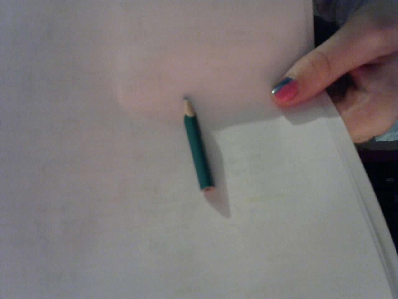 troc de troc mini crayon de couleur (vert). $ image 2